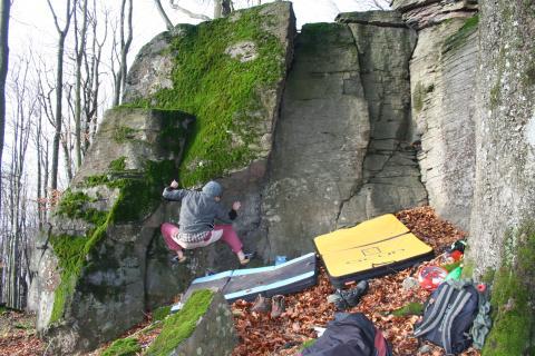 Vihorlat, Múr, Vihorlatský, Bouldering